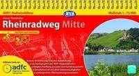 Otmar Steinbicker: ADFC Radreiseführer Rheinradweg Mitte 1 : 75 000, Diverse