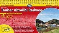 Hans Luntz: ADFC Radreiseführer Tauber Altmühl Radweg 1 : 75 000, Diverse