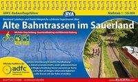 Bernhard Lubeley: ADFC-Radausflugsführer Alte Bahntrassen im Sauerland 1 : 50.000, Buch