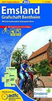 ADFC-Regionalkarte Emsland Grafschaft Bentheim 1 : 75 000, Diverse