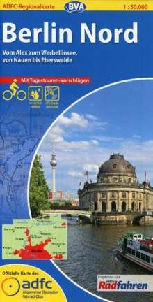 ADFC-Regionalkarte Berlin Nord 1 : 50 000, Diverse