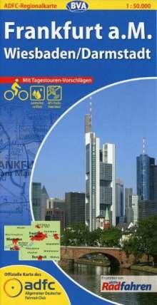 ADFC-Regionalkarte Frankfurt a. M. 1 : 50 000, Diverse