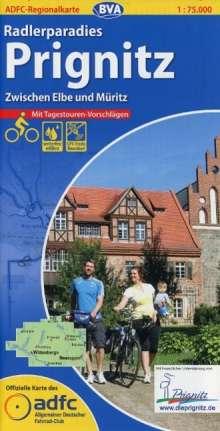 ADFC-Regionalkarte Radlerparadies Prignitz 1 : 75 000, Diverse