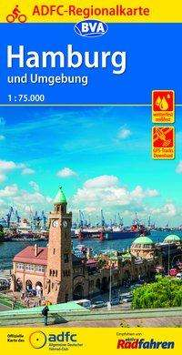 ADFC-Regionalkarte Hamburg und Umgebung 1:75.000, Diverse