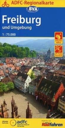 ADFC-Regionalkarte Freiburg und Umgebung 1:75.000, Diverse