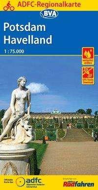 ADFC-Regionalkarte Potsdam Havelland mit Tagestouren-Vorschlägen, 1:75.000, Diverse