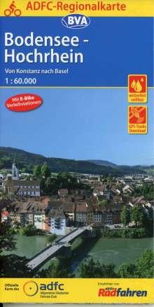 ADFC-Regionalkarte Bodensee-Hochrhein von Konstanz nach Basel 1:60.000, Diverse