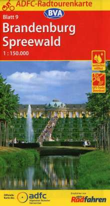 ADFC-Radtourenkarte 09 Brandenburg/Spreewald 1 : 150 000, Diverse