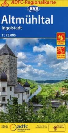 ADFC-Regionalkarte Altmühltal Ingolstadt 1:75.000, Diverse