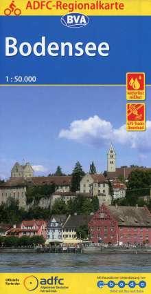 ADFC-Regionalkarte Bodensee, 1:50.000, Diverse