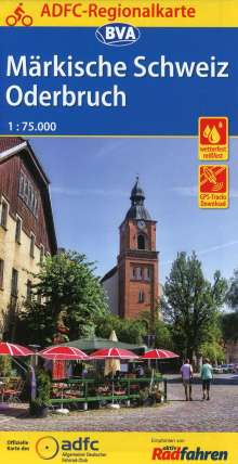 ADFC-Regionalkarte Märkische Schweiz Oderbruch 1:75.000, Diverse
