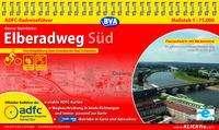 Otmar Steinbicker: ADFC-Radreiseführer Elberadweg Süd 1:75.000, Diverse