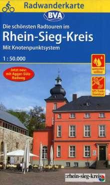 Radwanderkarte BVA Radwandern im Rhein-Sieg-Kreis 1:50.000, Diverse