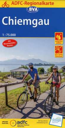 ADFC-Regionalkarte Chiemgau 1:75.000, Diverse