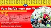 Kompakt-Spiralo BVA Vom Teufelsmoor zum Wattenmeer Naturerlebnis im Land zwischen Elbe, Weser und Nordsee Radwanderkarte 1:75.000, Diverse
