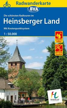 Radwanderkarte BVA Radwandern im Heinsberger Land 1:50.000, Diverse