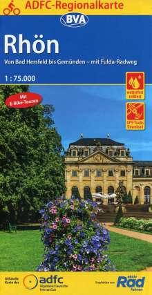 ADFC-Regionalkarte Rhön 1 : 75 000, Diverse