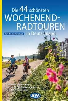 Die 44 schönsten Wochenend-Radtouren in Deutschland mit GPS-Tracks, Buch