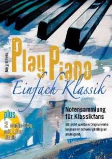 Play Piano – Einfach Klassik mit 2 CD's, Noten