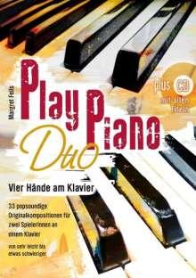 Play Piano Duo mit CD, Noten