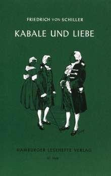 Friedrich von Schiller: Kabale und Liebe, Buch