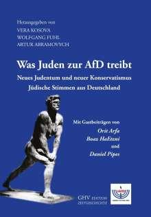 Was Juden zur AfD treibt, Buch