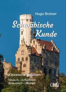 Hugo Brotzer: Schwäbische Kunde, Buch