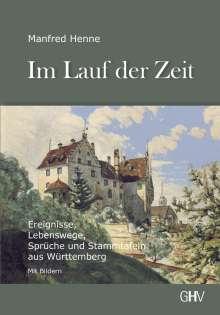 Manfred Henne: Im Lauf der Zeit, Buch