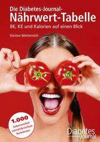 Kirsten Metternich: Die Diabetes-Journal-Nährwert-Tabelle, Buch
