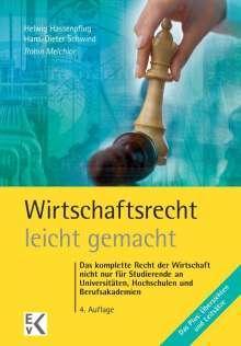 Robin Melchior: Wirtschaftsrecht leicht gemacht, Buch