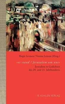 "Ludwig Strauß: ""es stand / Jerusalem um uns"", Buch"