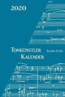 Tonkünstler-Kalender Classic ultra 2020, Noten