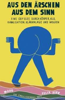 Felix Bork: Aus den Ärschen aus dem Sinn, Buch