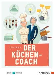 Björn Grimm: Der Küchencoach, Buch