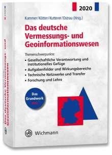 Das deutsche Vermessungs- und Geoinformationswesen 2020, Buch