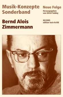 Bernd Alois Zimmermann, Buch