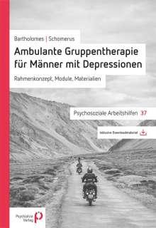 Steffen Bartholomes: Ambulante Gruppentherapie für Männer mit Depression, Buch
