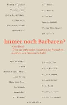 Karl-Heinz Lüdeking: Immer noch Barbaren?, Buch