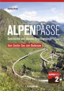 Steffan Bruns: Alpenpässe 2 - Vom Genfer See zum Bodensee, Buch