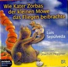 Wie der Kater Zorbas der kleinen Möwe das Fliegen beibrachte. 2 CDs, CD