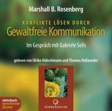 Marshall B. Rosenberg: Konflikte lösen durch gewaltfreie Kommunikation, 4 CDs