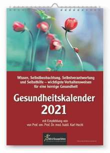 Karl Hecht: Gesundheitskalender 2021, Kalender