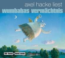 Axel Hacke: Wumbabas Vermächtnis, CD