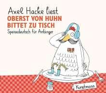 Axel Hacke: Oberst von Huhn bittet zu Tisch, CD