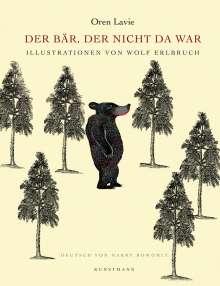 Oren Lavie: Der Bär, der nicht da war, Buch
