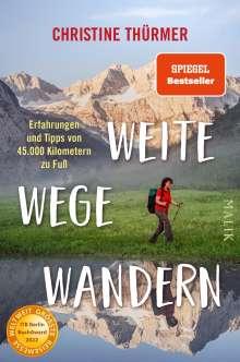 Christine Thürmer: Weite Wege Wandern, Buch