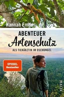Hannah Emde: Abenteuer Artenschutz, Buch