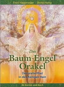 Fred Hageneder: Das Baum-Engel-Orakel, Buch