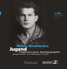 Moses Rosenkranz: Jugend - Hörbuch, 4 Audio-CDs, 6 CDs