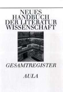 Literaturwissenschaftliche Methodik und Gesamtregister, Buch